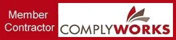 Comply Works member contractor banner