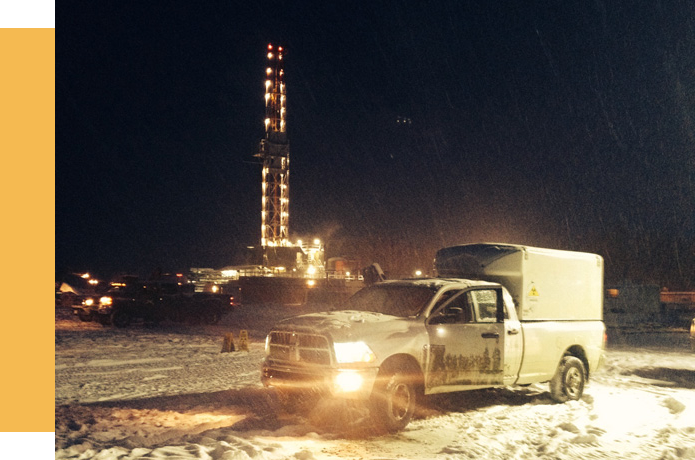 Magnetic Particle Inspection on Drilling Rigs across Alberta and British Columbia