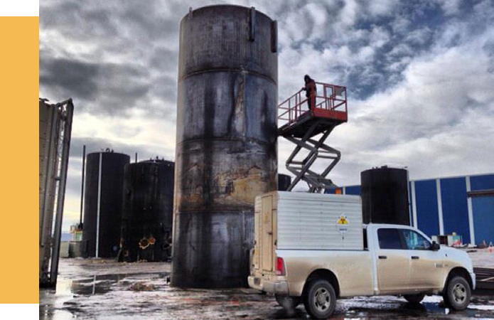 20/20 NDT Tank Inspection with Radiographic and Magnetic Particle Testings