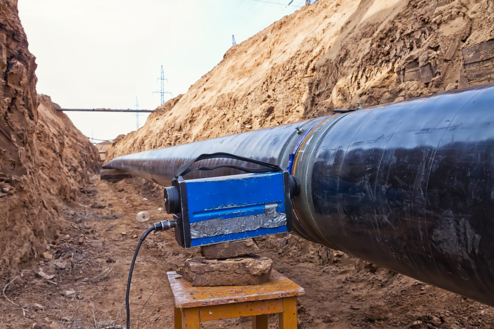 Uses for NDT - Testing Pipeline   20/20NDT